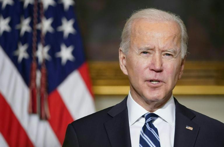 US President Joe Biden and Japan's Prime Minister Yoshihide Suga both urged denuclearization of the whole Korean peninsula in their first call since Biden took office