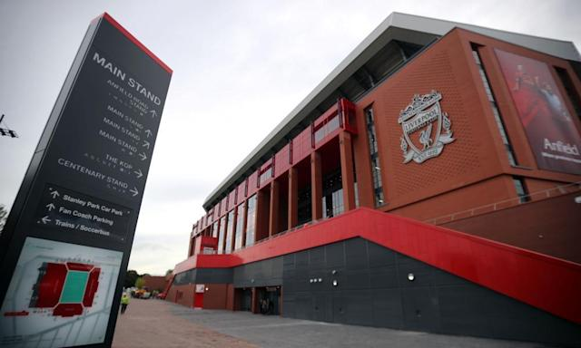 """<span class=""""element-image__caption"""">The Premier League investigation started with allegations that Liverpool had poached an 11-year-old from Stoke but reneged on an agreement to pay his private school fees.</span> <span class=""""element-image__credit"""">Photograph: Peter Byrne/PA</span>"""