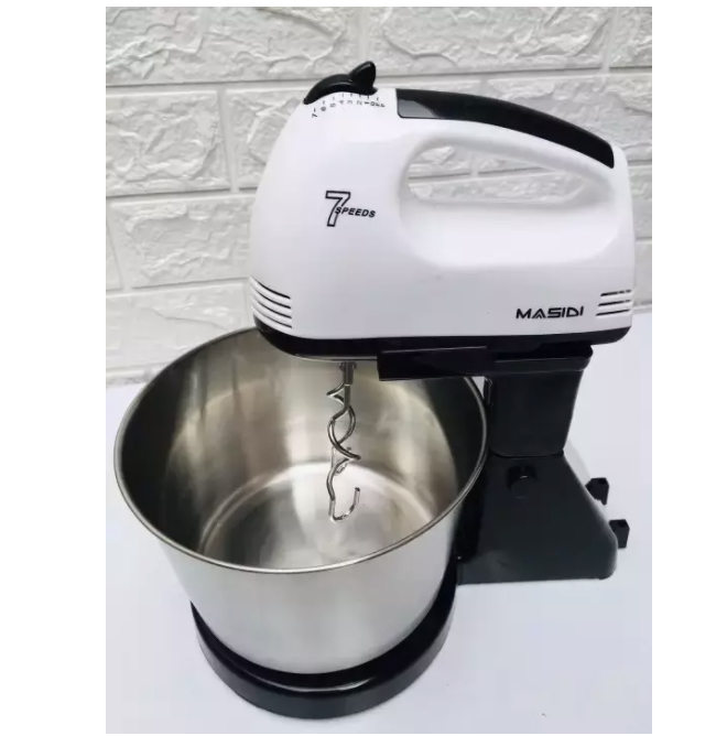 7 Speed Hand Mixer With Stand Mixer. (PHOTO: Lazada Philippines)