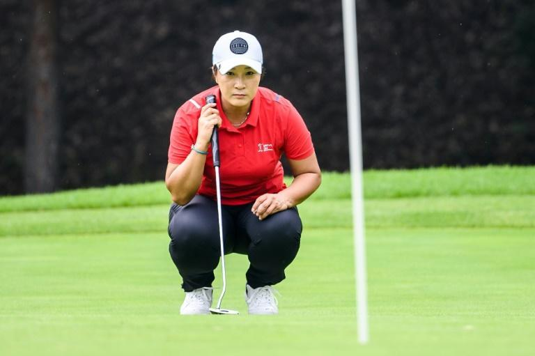 Pak Se-ri was the first Asian to win the oldest women's major (AFP/Anthony WALLACE)