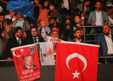 Turkey's Erdogan re-elected as party leader