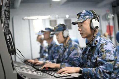 The People's Liberation Army says its drills are in response to pirates and the global pandemic. Photo: PLA Daily