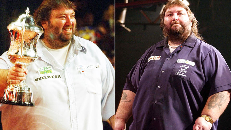 Andy Fordham, pictured here before his tragic death age 59.