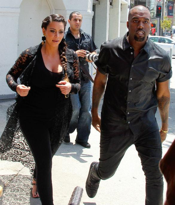Kim Kardashian and Kanye West Take Baby North West On Day Trip To Napa