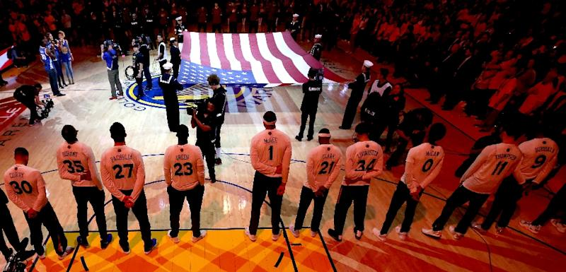 Nba Says Players Must Stand For National Anthem Report