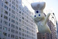 "You've probably always called the cute little creature who promotes pre-prepared pastry dough the <a href=""https://www.bustle.com/p/the-internet-just-discovered-the-pillsbury-doughboys-real-name-is-universally-shook-69433"" rel=""nofollow noopener"" target=""_blank"" data-ylk=""slk:Pillsbury Doughboy"" class=""link rapid-noclick-resp"">Pillsbury Doughboy</a>. But he happens to have a specific name: Poppin' Fresh. He also has a wife named Poppie Fresh and two children, a son that goes by Popper and a daughter known as Bun Bun. There's also the grandparents, Granmommer and Granpopper, as well as Uncle Rollie. And if that wasn't enough, the family has a dog called Flapjack and a cat named Biscuit."