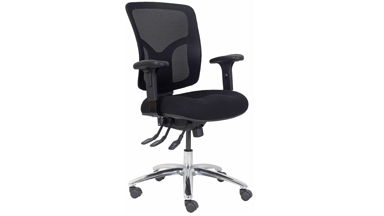 <p>Put yourself in the best position possible for business success with the Professional Ergonomic Extra Heavy Duty Chair ($297). The sturdy build is seamlessly combined with a timeless design, making it a long-term investment for your business far into the future. The chair height, armrest height, seat and back are all adjustable so you'll work comfortably all day – helping increase your productivity in the most stylish way possible! </p>