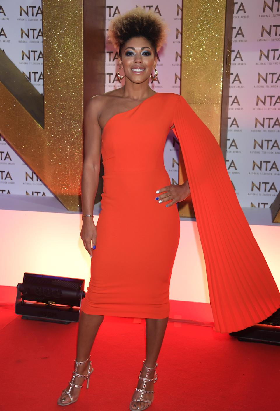 LONDON, ENGLAND - JANUARY 28:  Dr Zoe Williams attends the National Television Awards 2020 at The O2 Arena on January 28, 2020 in London, England. (Photo by David M. Benett/Dave Benett/Getty Images)
