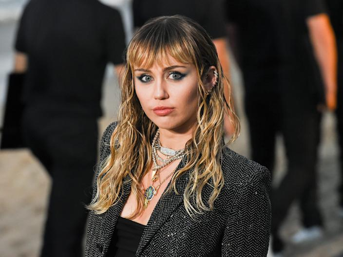 Miley Cyrus has talked about making vegan fashion choices, too.