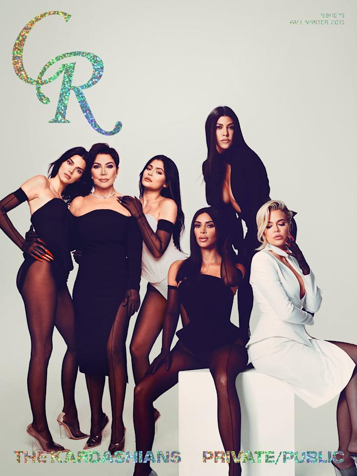 <p>All wearing custom Mugler outfits with Yeezy shoes.</p>