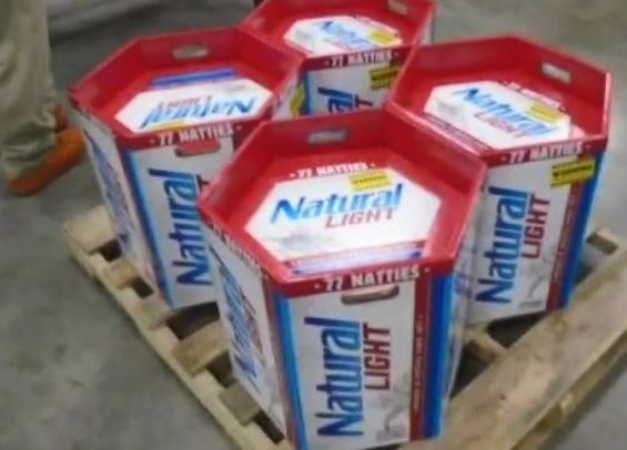 Keg-like 77-packs of Natural Light beer were sold to University of Maryland students before school's 2018 homecoming weekend