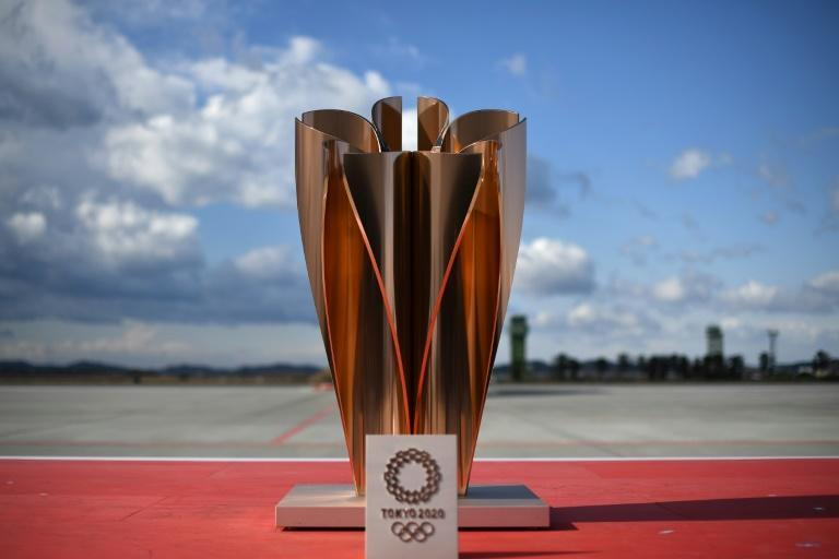 The 'celebration cauldron' weighs around 200 kilogrammes and stands 1.5 metres tall