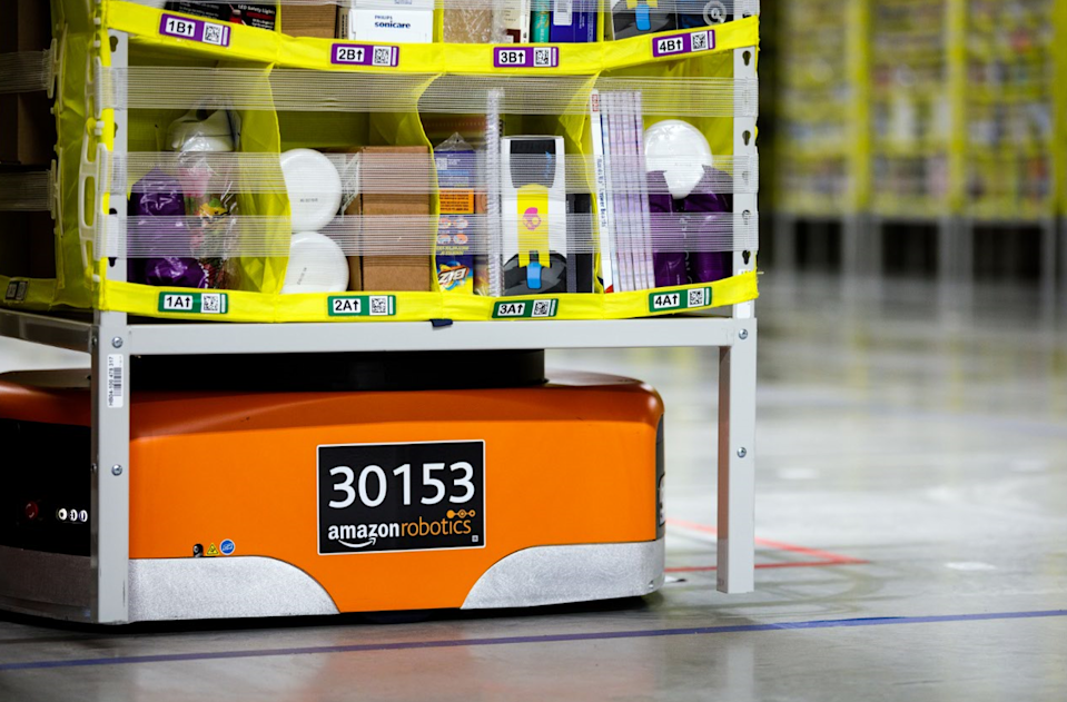 Amazon to Open 700,000 Square-Foot Robotics Fulfillment Center in Texas