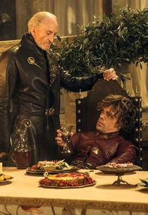 Charles Dance and Peter Dinklage    Photo Credits: Helen Sloan/HBO