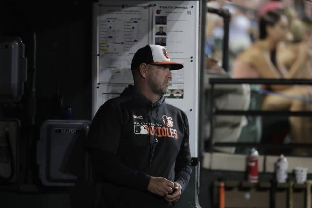 Orioles' Brandon Hyde, Royals bench coach Dale Sveum commiserate over managing in a rebuild