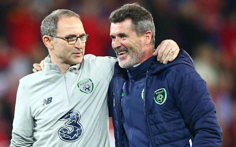 Roy Keane (R) is a man on a mission  - Getty Images Contributor