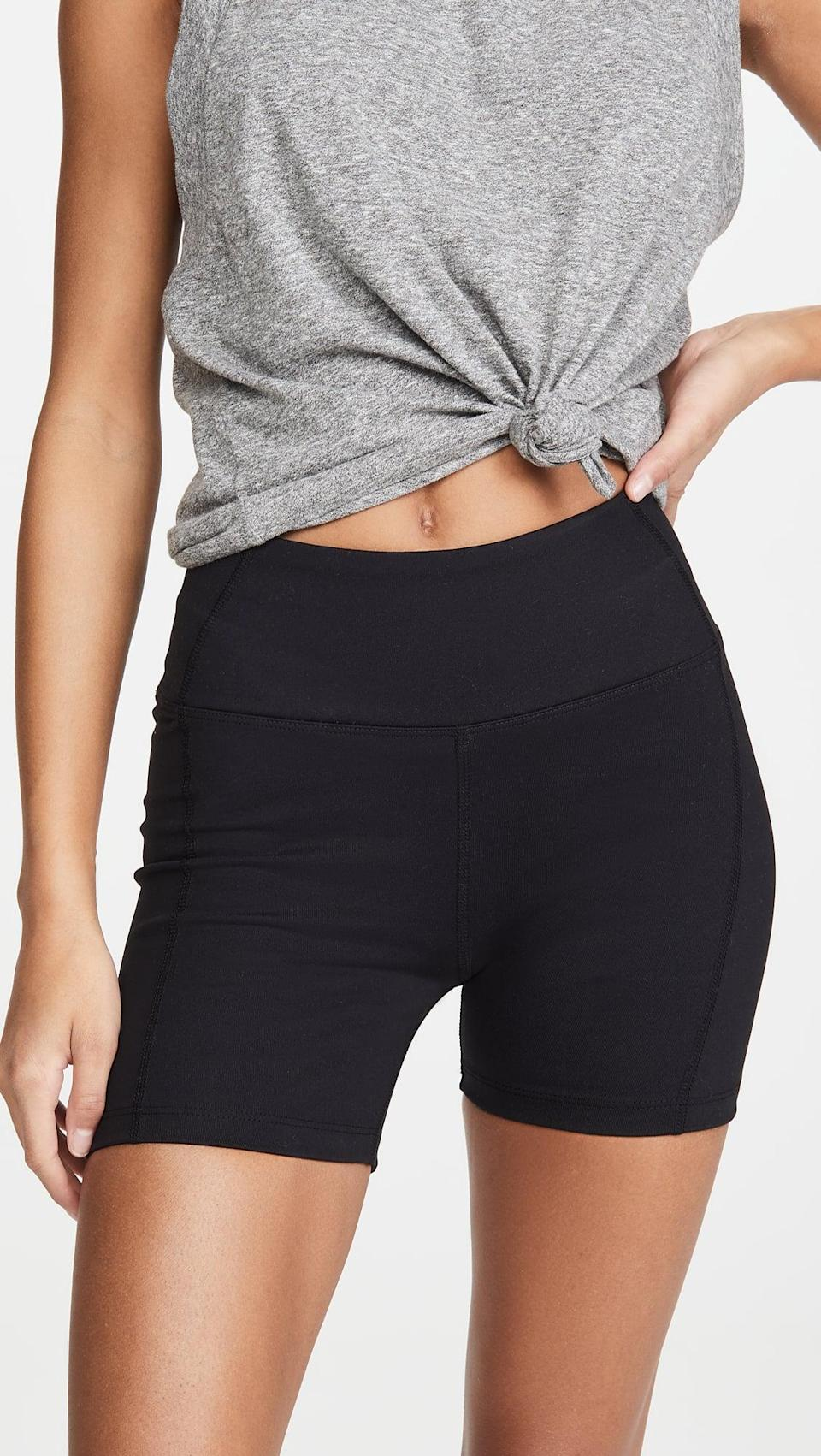 <p><span>Year of Ours Short Shorts</span> ($68)</p>