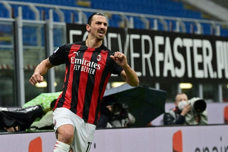 AC Milan forward Zlatan Ibrahimovic scored twice to bring his tally to 501 club goals.