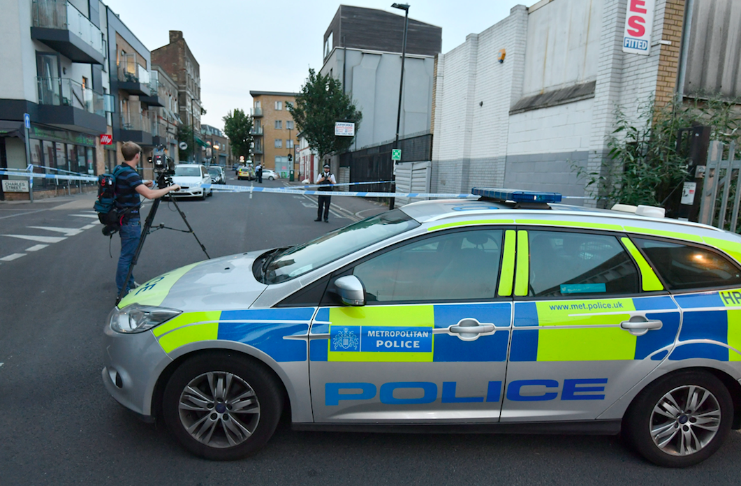 <em>A 14-year-old boy was stabbed in the stomach with a 10-inch kitchen knife in North London on Sunday evening (PA)</em>