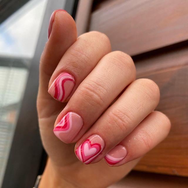 "<p>Can't decide if this nail reminds me of the '70s or the <em>Powerpuff Girls</em>, either way I'm here for it.</p><p><a href=""https://www.instagram.com/p/CKL93njJj35/?utm_source=ig_embed&utm_campaign=loading"" rel=""nofollow noopener"" target=""_blank"" data-ylk=""slk:See the original post on Instagram"" class=""link rapid-noclick-resp"">See the original post on Instagram</a></p>"