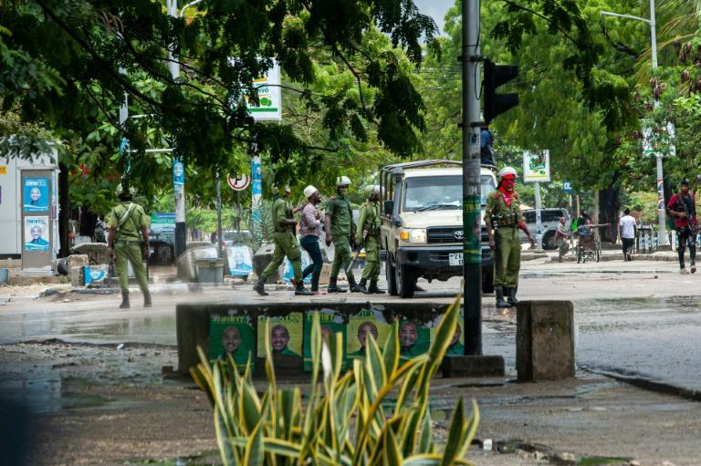 Tanzanian Security Forces arrest two people in Stone Town, Zanzibar
