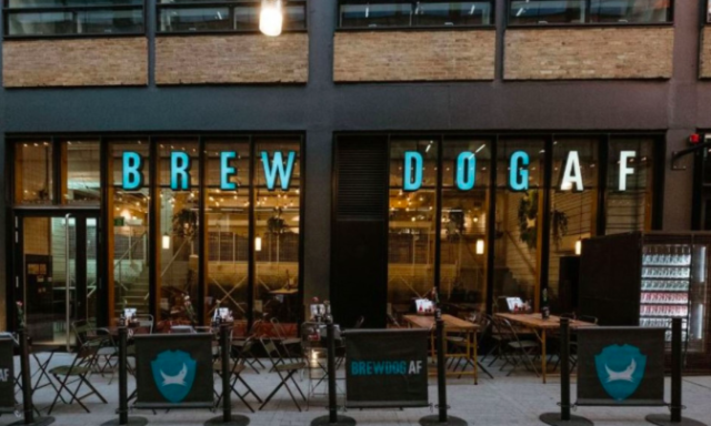 The bar is also offering bottomless refills for the month of January [Photo: BrewDog]
