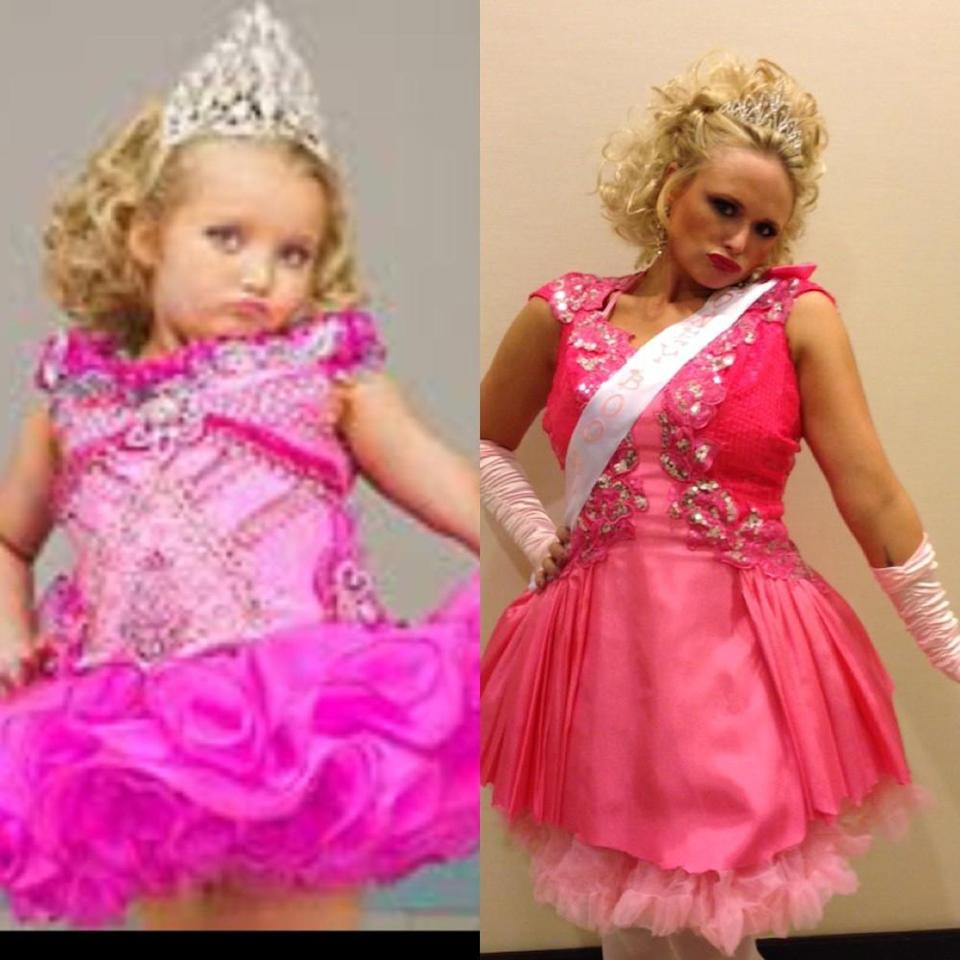 "<p class=""MsoNormal""><span>Now <em>that's</em> a great costume! Country crooner Miranda Lambert went as fellow Southerner Honey Boo Boo for Halloween this year and then posted this pic of herself alongside a photo of the pint-size beauty queen-turned-reality star to her <a target=""_blank"" href=""http://www.whosay.com/mirandalambert/photos/242492"">WhoSay page</a>, writing, </span><span><span>""We should both win Supreme titles!</span>"" (11/1/2012)</span></p>"
