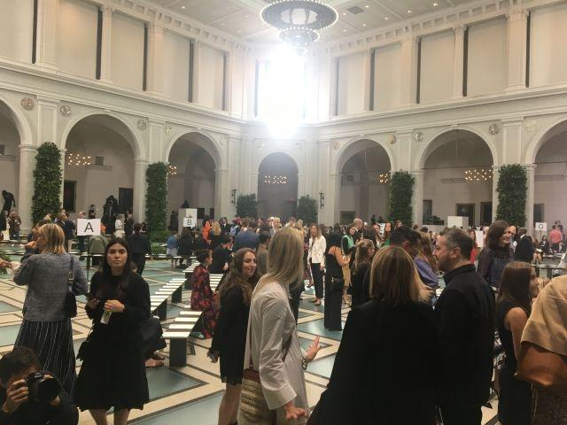Tory Burch presented her SS2020 show at the Brooklyn Museum
