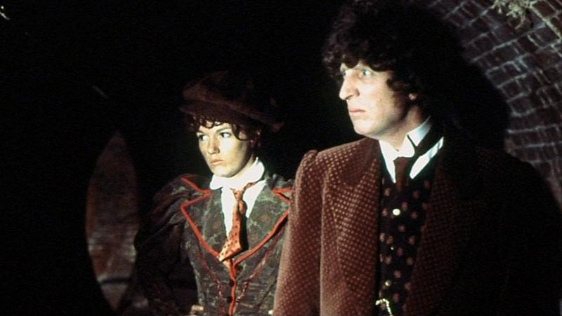 Tom Baker as the Doctor (Credit: BBC)