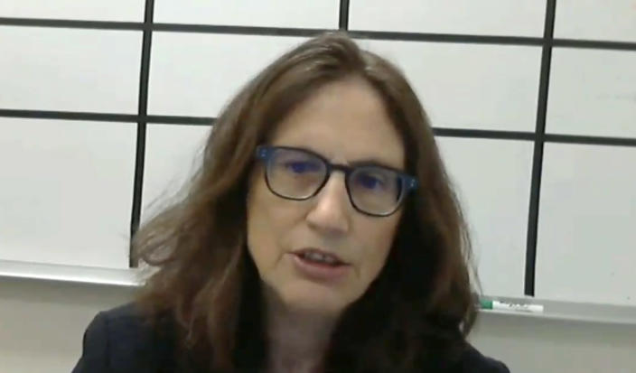 Dr. Alicia Fernandez testifies before the House Ways and Means Committee. (House.gov via Yahoo News)