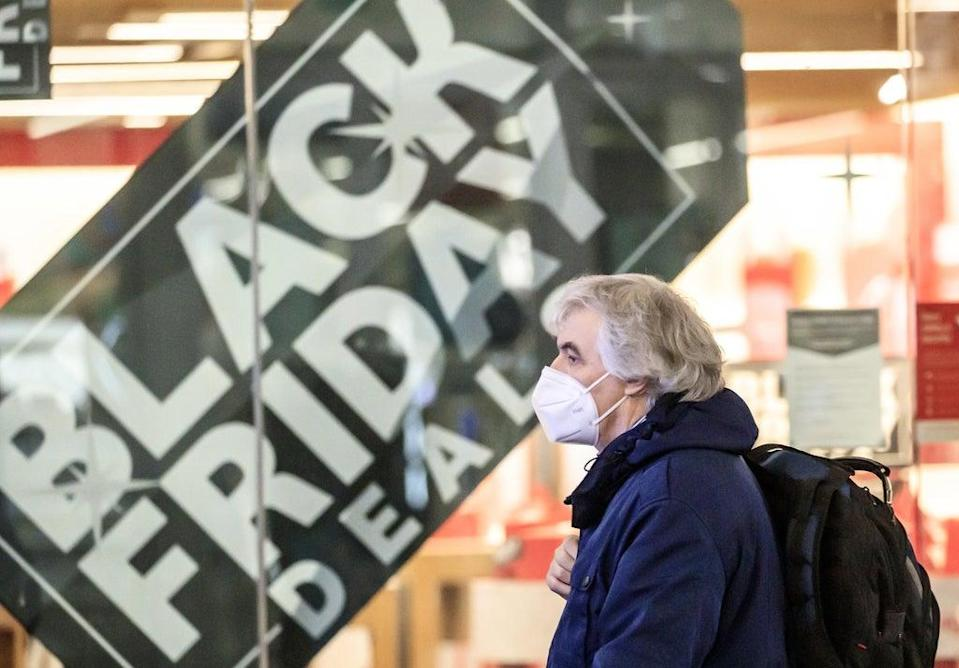 Around one in four people are worried that items they want to buy on Black Friday will be out of stock due to supply chain problems, according to a YouGov survey for PriceRunner (Danny Lawson/PA) (PA Archive)