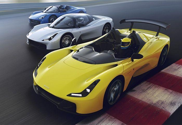 """<p>The Stradale is race-car builder Dallara's <a href=""""https://www.roadandtrack.com/new-cars/a25133802/2019-dallara-stradale-top-gear-video-review/"""" target=""""_blank"""">first road-going car</a>, and, thanks to its racing background, it doesn't really have comfort in mind. The cabin only comes with the bare essentials, and the body is made of carbon fiber. There's even a version you can get without a roof or windshield. </p>"""