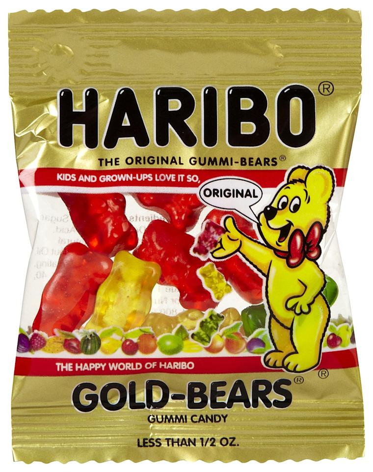 "<p><a href=""https://www.popsugar.com/buy?url=https%3A%2F%2Fwww.amazon.com%2FHaribo-Gummi-Candy-Goldbears-Pound%2Fdp%2FB000EVOSE4&p_name=Haribo%20gummy%20bears&retailer=amazon.com&evar1=yum%3Aus&evar9=37026598&evar98=https%3A%2F%2Fwww.popsugar.com%2Ffood%2Fphoto-gallery%2F37026598%2Fimage%2F37026607%2FFrozen-Gummy-Bears&list1=dessert%2Csnacks%2Cfood%20trends%2Cfood%20humor&prop13=api&pdata=1"" rel=""nofollow"" data-shoppable-link=""1"" target=""_blank"" class=""ga-track"" data-ga-category=""Related"" data-ga-label=""https://www.amazon.com/Haribo-Gummi-Candy-Goldbears-Pound/dp/B000EVOSE4"" data-ga-action=""In-Line Links"">Haribo gummy bears</a> are even tastier when frozen because the texture becomes more solid. You've got to try it! </p>"