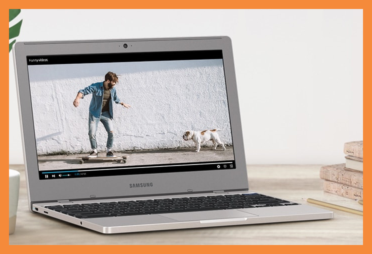 Back-to-school sale: Save nearly 45 percent on this Samsung Chromebook 4. (Photo: Walmart)