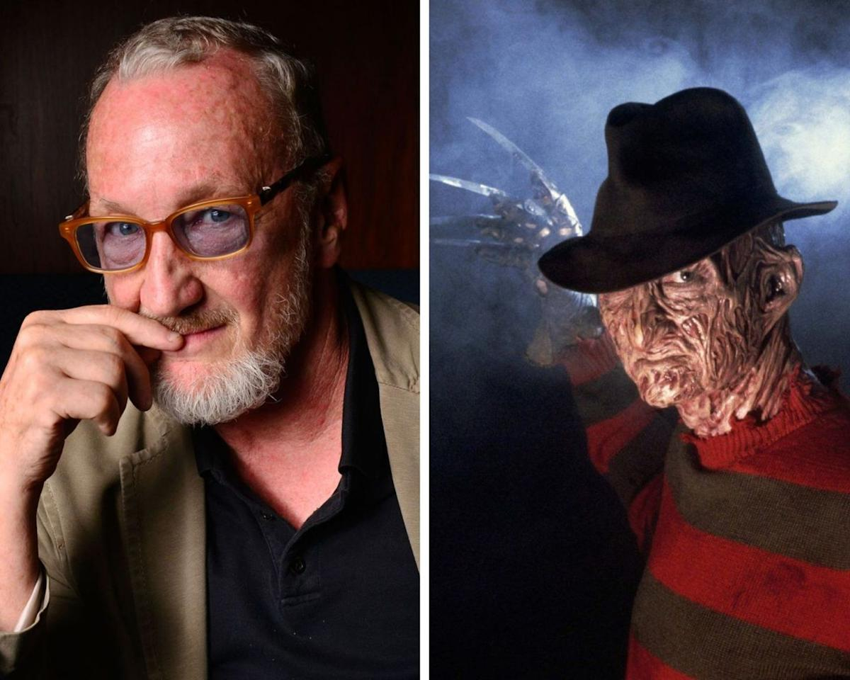 <p>The actor burst onto the horror scene in 1984 playing the iconic serial killer Freddy Krueger in the horror classic, <em>A Nightmare on Elm Street</em>. But that's not the only time Englund visited <em>Elm Street. </em>He reprised the role for seven more sequels, as well as a television series, <em>Freddy's Nightmares. </em>Aside from playing the iconic pop culture horror figure, he's starred in a number of other films, including<em> Urban Legend, Wishmaster, </em>and<em> 2001 Maniacs.</em></p>