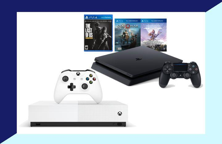 Getting a gift for a gamer isn't easy. But these deals on an Xbox One S and a PlayStation 4 might your way out of a stressful holiday shopping trip.