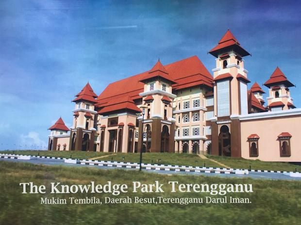 The cover of a leaked report detailing the damages in Taman Ilmu, Besut as sighted by Malay Mail Online.