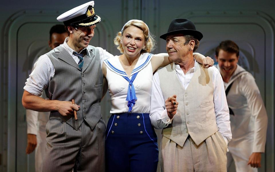 Robert Lindsay (R) in Anything Goes - Reuters