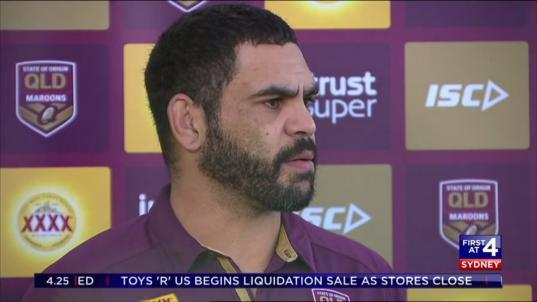 The Maroons arrive in Sydney within the hour as the build up to State of Origin II intensifies.