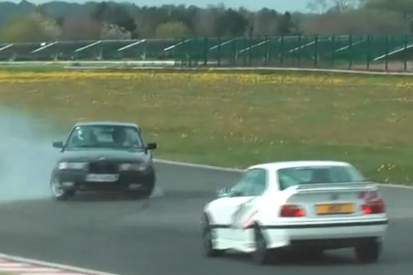 Track day idiocy