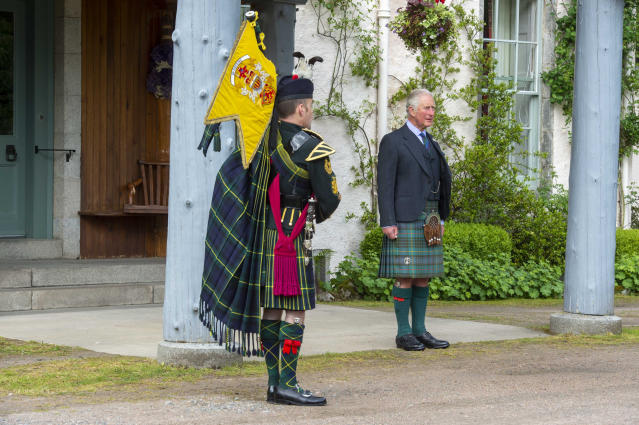 """The ceremony is to commemorate the thousands of Scots who were killed or captured during """"the forgotten Dunkirk"""" 80 years ago. (Poppyscotland/PA Wire)"""