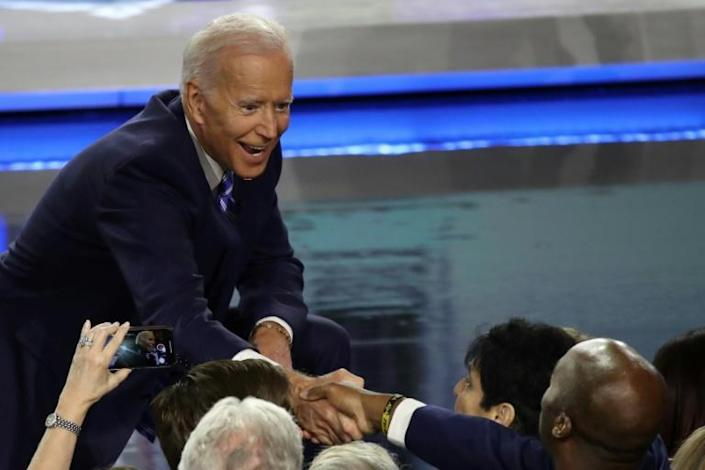 Former vice president Joe Biden had called for racial equality and criticized anti-busing leaders when campaigning for the Senate in 1972 (AFP Photo/Drew Angerer)