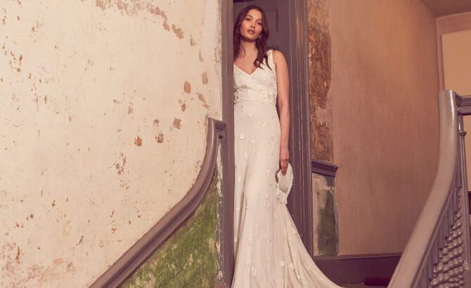 <p>Choosing a wedding dress is one of the most important sartorial decisions you'll make in your life but that doesn't mean it has to cost the earth. </p><p>In recent years so many high street brands have begun to design incredibly affordable wedding dresses that look straight out of a designer catalogue minus the eye-watering price tags. </p><p>Whether you're after an ultra-classic style, a little sparkle or a statement feature such as a cape - there are so many different options to choose from. </p><p>Below we have picked out the best high street wedding dresses for under £500 to shop now from brands such as ASOS, Monsoon, Whistles and Ghost. </p><p>Which will you wear on your big day?</p>