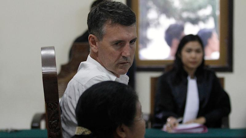 WA man Scott Dobson was met with shouts as he was brought into a Bali Court to face assault charges.