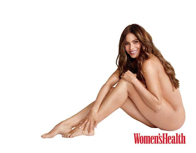 Sofia Vergara in the September issue of Women's Health. (Photo: Matthias Vriens-McGrath)