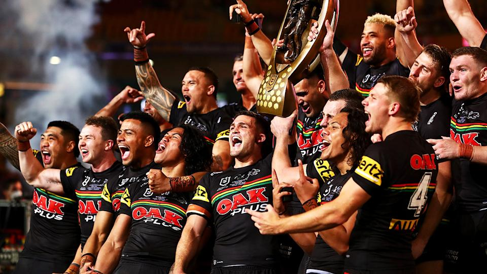 Reigning NRL premiers Penrith will potentially have another Brisbane-based team to compete against from 2023. (Photo by Chris Hyde/Getty Images)
