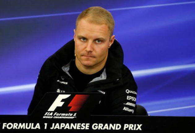 Motor racing: Mercedes' Bottas set for gearbox penalty in Japan