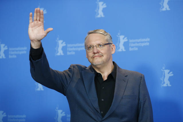 "Director, screenwriter and producer Adam McKay poses during a photocall to promote the movie ""Vice"" at the 69th Berlinale International Film Festival in Berlin, Germany, February 11, 2019. REUTERS/Fabrizio Bensch"