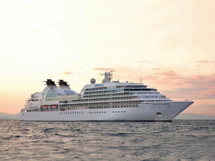 The Seabourn Sojourn.