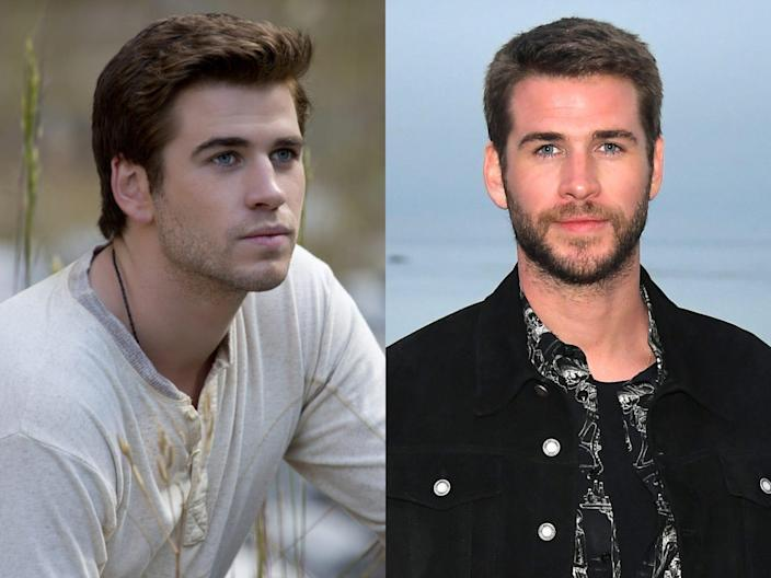 """Liam Hemsworth in """"The Hunger Games."""""""